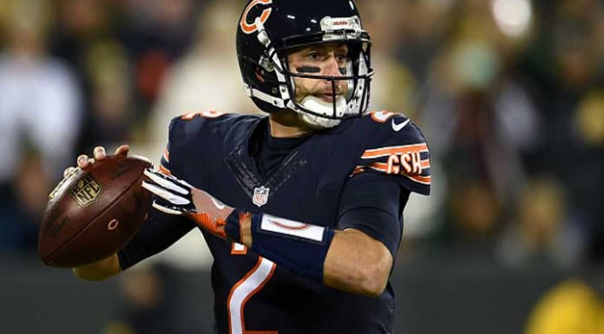 Bears QB Brian Hoyer Breaks Left Arm In 26-10 Loss To Aaron Rodgers, Packers