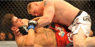 Brock Lesnar Tests Positive For PEDs In Fight-Night Screening