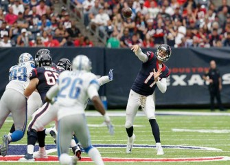 Brock Osweiler Bounces Back To Lead Texans To 20-13 Win Vs Lions