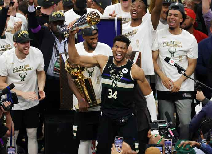 Giannis Antetokounmpo's 50 Points Catapults Milwaukee To First NBA Title In 50 Years