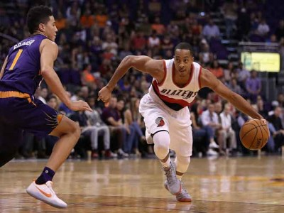 CJ McCollum Posts Instagram Photo Of Carmelo Anthony In Blazers Jersey
