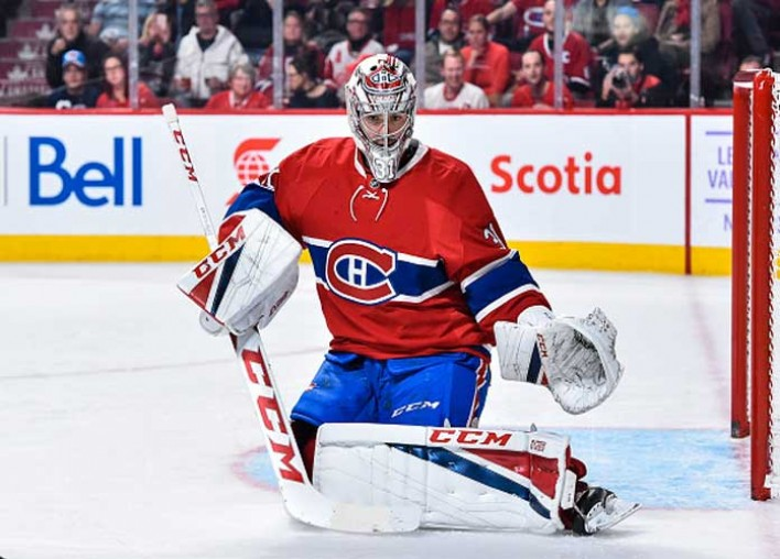 Watch: Canadiens Goalie Carey Price Repeatedly Punches Devils' Kyle Palmieri After Collision At Net