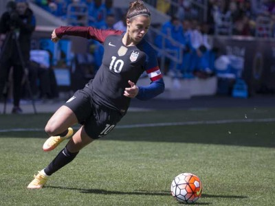 Carli Lloyd, Alex Morgan Lead USWNT To 2-0 Win Over New Zealand In Olympic Opener