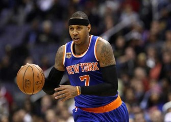 Carmelo Anthony Scores 23 Points, Knicks Beat Bulls 100-91