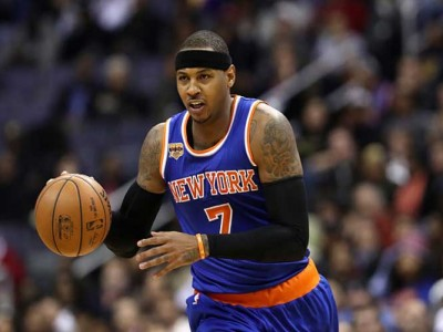 Carmelo Anthony Scores 31, Knicks Top Hawks 104-94 For Fourth Straight Home Win
