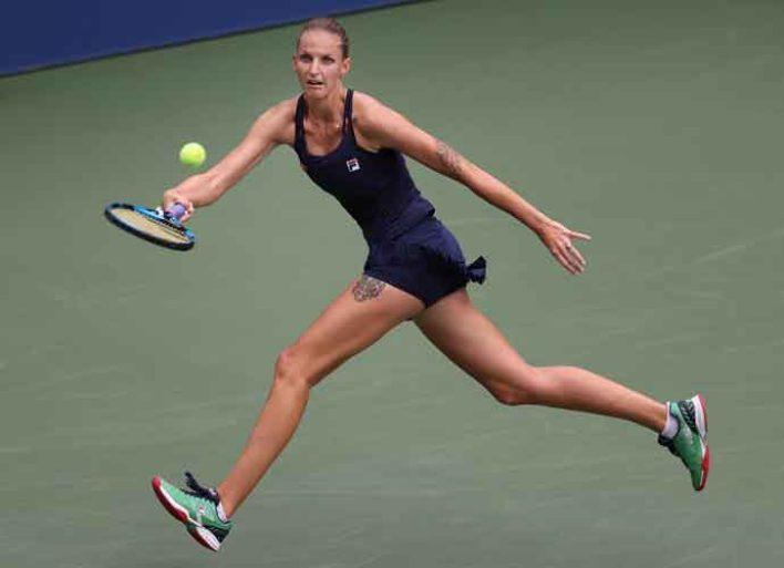 U.S. Open Upsets Continue As One Seed Karolina Pliskova Falls In Second Round To Caroline Garcia