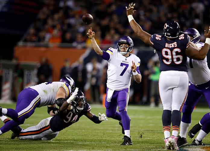 Case Keenum Replaces Injured Sam Bradford In Vikings' Win Vs. Bears
