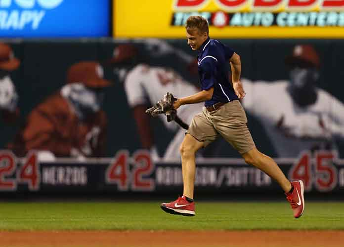 Watch: Cat Interrupts Cardinals Vs. Royals Game At Busch Stadium
