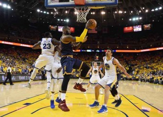 Records Fall And Tempers Flare In Warriors 132-113 Game Two Win Over Cavs