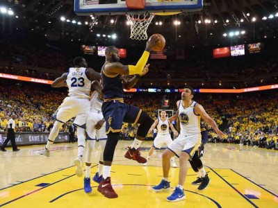 Warriors Stomp Cavs In Game One Of Finals 113-91