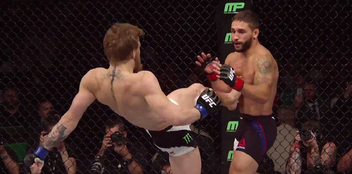 Chad Mendes Broke Thumb In Conor McGregor Fight