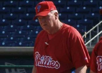 Former Phillies Manager Charlie Manuel Returns To Team As Hitting Coach