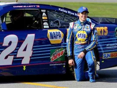 Chase Elliott Gets Chevy First Victory in NASCAR Cup Series