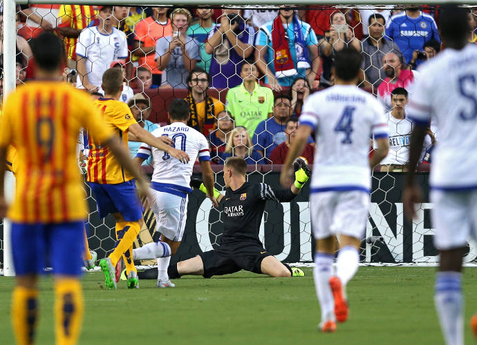 Chelsea Beats Barcelona 2-2 In Penalties At International Champions Cup Friendly