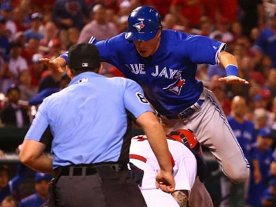 Watch: Chris Coghlan Flips Over Yadier Molina To Score In Blue Jays' 6-5 Win Vs Cardinals