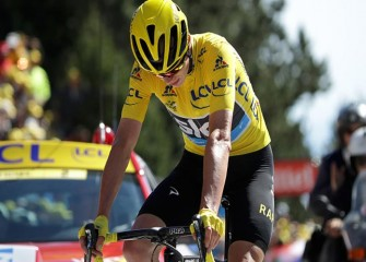 British Cyclist Chris Froome Says He Was 'Rammed On Purpose' By Driver In France
