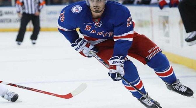 Chris Kreider' Strong Season Start Continues In Rangers' 7-4 Win Over Sharks