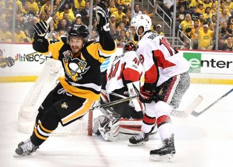 Watch: Chris Kunitz Scores In Double OT, Penguins Beat Senators 3-2 To Reach Stanley Cup Final