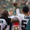 Eagles' Chris Long Puts Arm Around Malcolm Jenkins In Support For National Anthem Protest