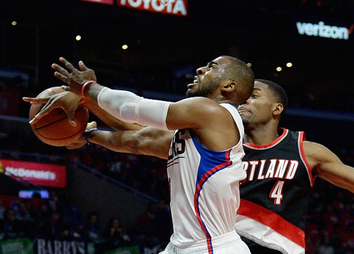 Clippers Roll Past Trail Blazers 115-95 In Playoff Game 1