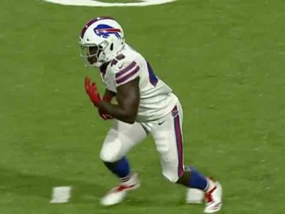 British Rugby Star Christian Wade Scores Touchdown On First Touch During Preseason Game For Buffalo Bills [VIDEO]