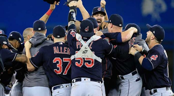 Indians Top Blue Jays 3-0 In ALCS Game 5 To Reach First World Series Since 1997
