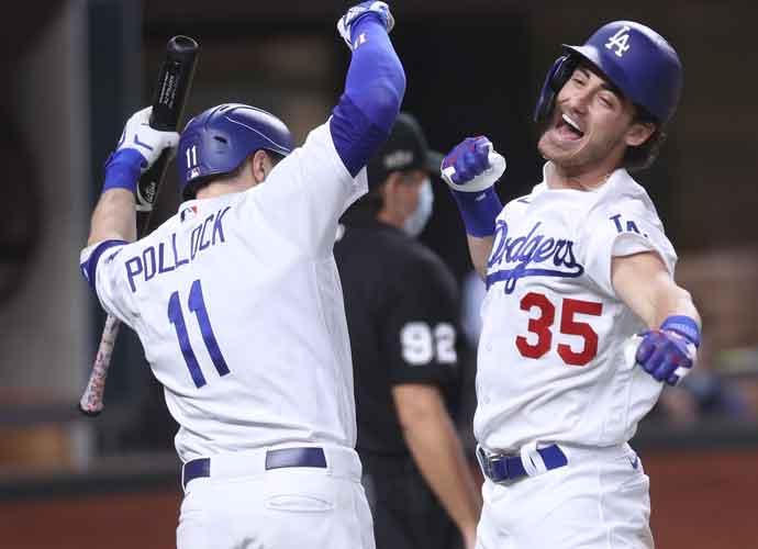 WATCH: Cody Bellinger Separates Shoulder Celebrating Game Seven Home Run