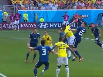 Colombia Gets Early Red Card, Loses To Japan 2-1 In World Cup Opener