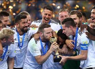 Young German Team Defeats Chile 1-0 For Confederations Cup Win
