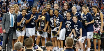 UConn Dominates Notre Dame And Wins NCAA Women's National Championship