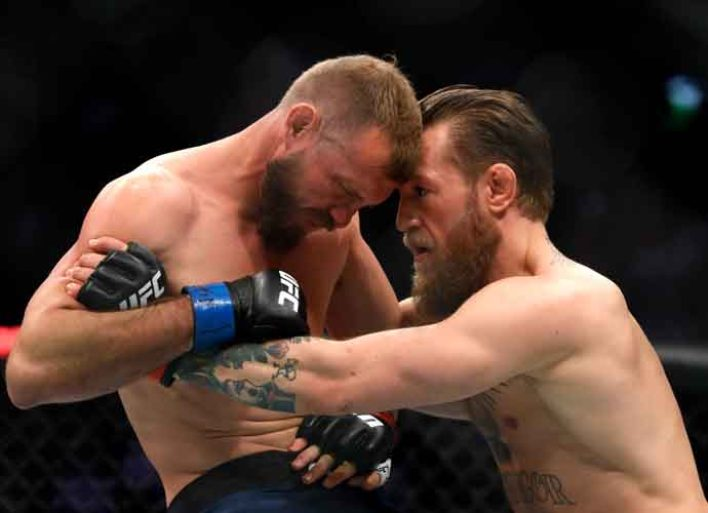 McGregor Takes Down Cerrone With 40-Second KO