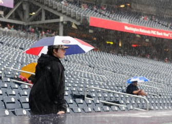 Chicago Cubs and Pittsburgh Pirates Game Gets Rained Out At 1-1