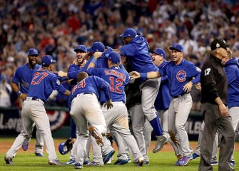 Cubs Edge Indians 8-7 In Ten-Inning Game 7 To Win First World Series In 108 Years