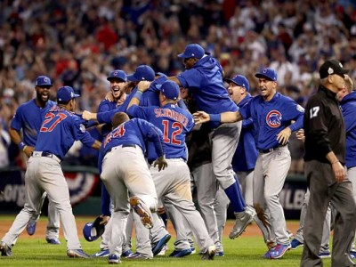 Cubs Receive First World Series Rings In Team History, Beat Dodgers 4-0 To Win Series 2-1