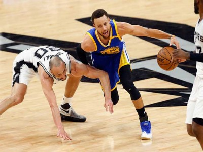 Watch: Warriors Beat Spurs 129-115 In Game 4 To Enter NBA Finals 12-0
