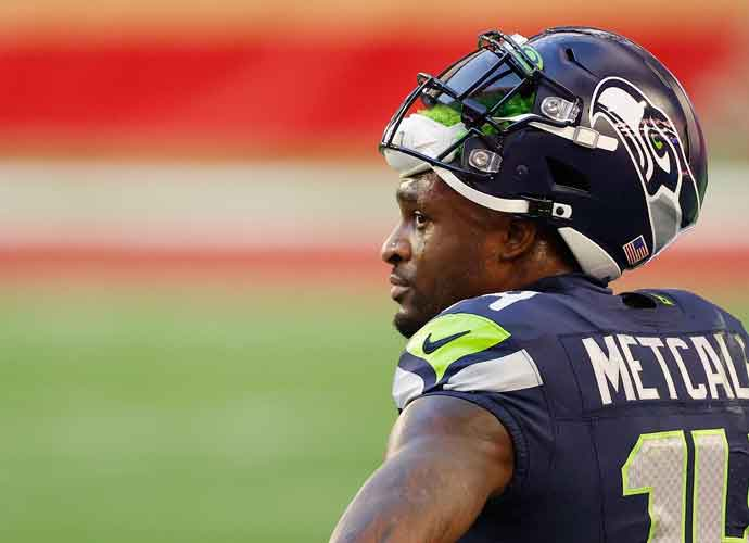 Seattle Seahawks' DK Metcalf Participates In 100-Meter Dash To Qualify For Tokyo Olympics