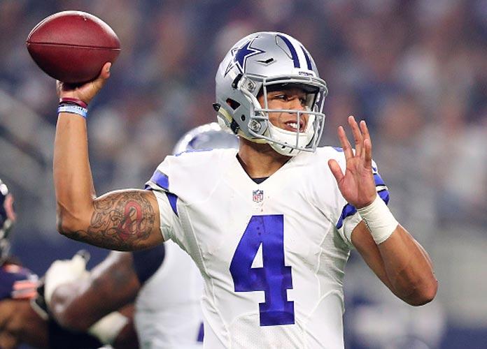 Cowboys' QB Dak Prescott Impresses In Opener Against Tampa