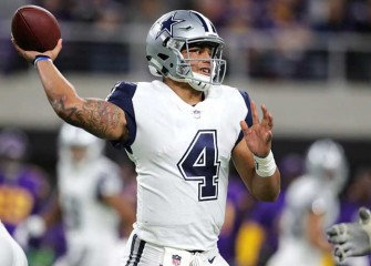 Dak Prescott, Cowboys Beat Vikings 17-15 In Mike Zimmer's Absence