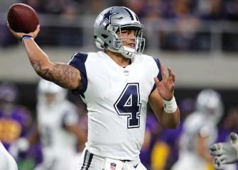 Dak Prescott, Cowboys Beat Vikings 17-15 In Mike Zimmer's Absence