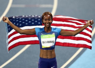 Dalilah Muhammad Becomes First U.S. Woman To Win Olympic Gold In 400M Hurdles