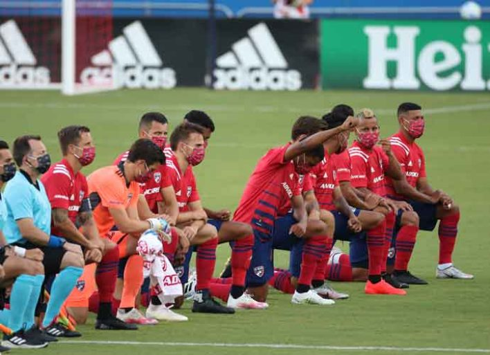 FC Dallas & Nashville SC MLS Players Booed For Kneeling During Anthem In Texas