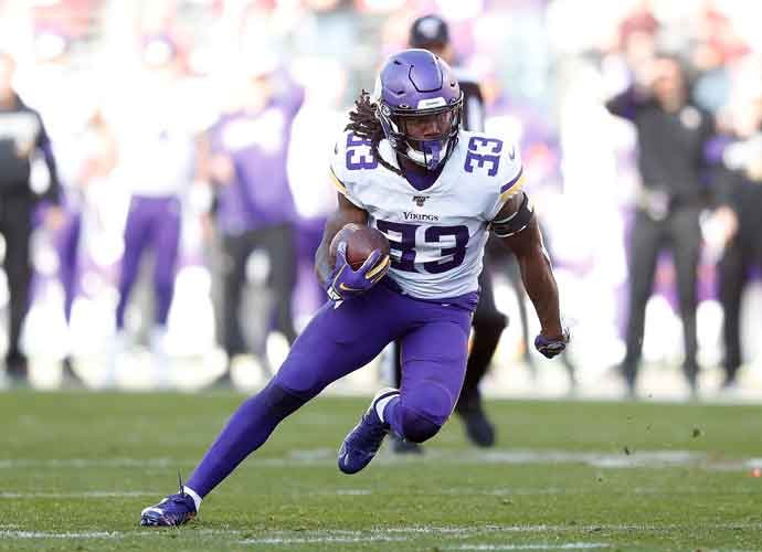 Minnesota Vikings' Dalvin Cook Re-Enters Game After Suffering An Ankle Injury