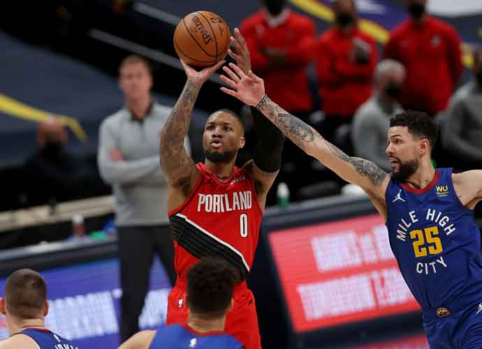 Lillard's Record-Breaking 12 Threes & 55 Points Not Enough To Beat Denver Nuggets