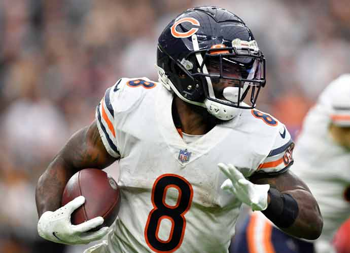 Chicago Bears Put RB Damien Williams On Reserve Due To Covid-19 Result
