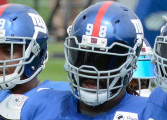 Giants Trade DT Damon Harrison To Lions For 5th-Round Pick