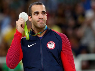 USA's Danell Leyva Wins Two Olympic Silvers In Parallel Bars, High Bar