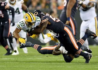 Bears' Danny Trevathan Suspension For Hit On Davante Adams Reduced To One Game