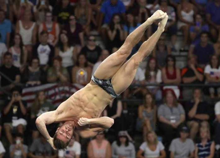 David Boudia, Team USA Olympic Diver, On His Prep For Olympic Competition [VIDEO EXCLUSIVE]