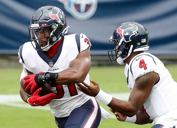 Houston Texans & RB David Johnson Agree To Restructured Contract