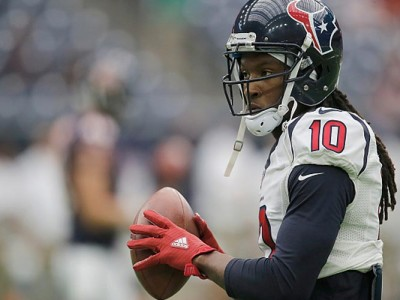 Wach: DeAndre Hopkins Scores Amazing TD In Texans' 34-6 Loss To Steelers